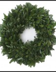 Fresh holiday wreaths homemade