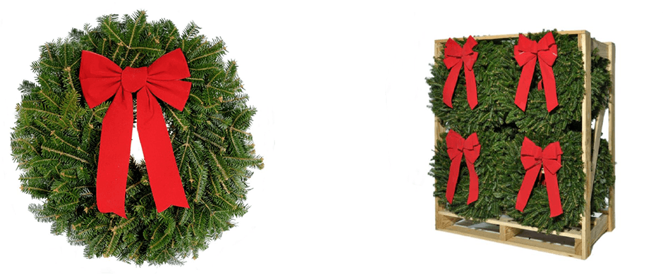 wholesale fresh christmas wreaths - Fresh Christmas Greenery
