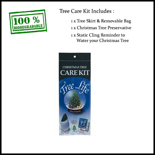 christmas tree care kit